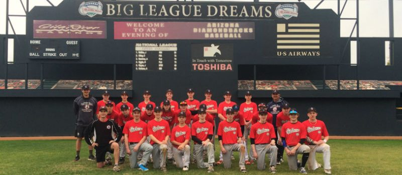 Team BLE at Big League Dreams